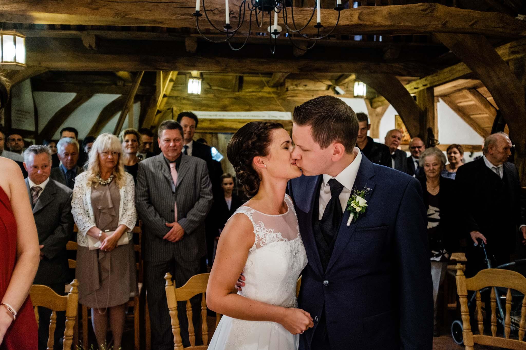 Hochzeit im Gastlichen Dorf in Delbrück - Trauung im Gastlichen Dorf